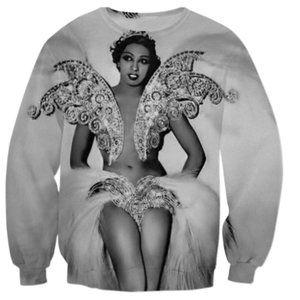 White Feather Josephine Crewneck Sweater